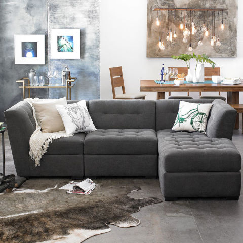 macy s roxanne fabric modular living room furniture collection 9 best sectional sofas couches stylish linen and leather