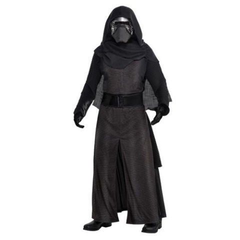 $55 BUY NOW Welcome to the dark side. As we count down the days until the new Star Wars installment is released, this Kylo Ren costume will make you feel like you're from a galaxy far, far away. More: Crazy Costumes for an Even Crazier Halloween Night
