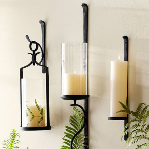 11 Best Wall Mounted Candle Sconces for 2018 - Decorative ... on Wall Mounted Candle Sconce id=36069