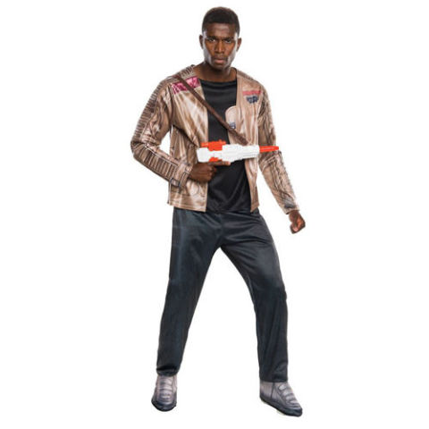 $47 BUY NOW Finn was everyone's favorite breakout star in the newest Star Wars sequel trilogy. Now you can go as him in this Halloween getup and save the galaxy.