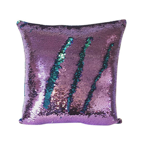 from $8 BUY NOW This magical pillow is perfect for any mermaid's den or bed. The sequins are reversible, so you can basically draw any design on the pillow, and you can choose from a huge variety of color combinations if this one isn't calling to you.