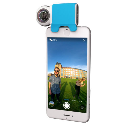 Giroptic iO camera
