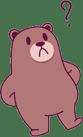 Margin Call Bear Puzzled