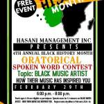 Spoken Word contest 2016