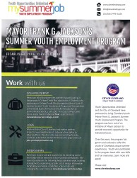 Mayor Jackson's summer Youth Employment Program