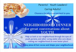 pic neighborhood dinner about youth