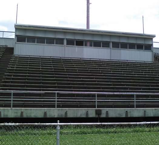 1964 addition of bleachers June 2015