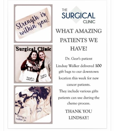 Sweet post from The Surgical Clinic