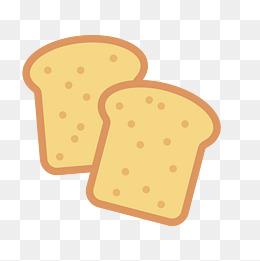 【卡通吐司面包素材】免費下載_卡通吐司面包圖片大全_千庫網png