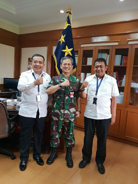 Silahturahmi Bahas Bela Negara, Barisan Pelopor Indonesia Mendapat Dukungan Menham