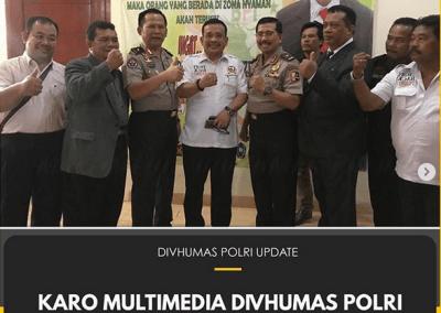 Karo Multimedia Divhumas Polri Hadiri Rapimnas BPI KPNPA RI di Serpong