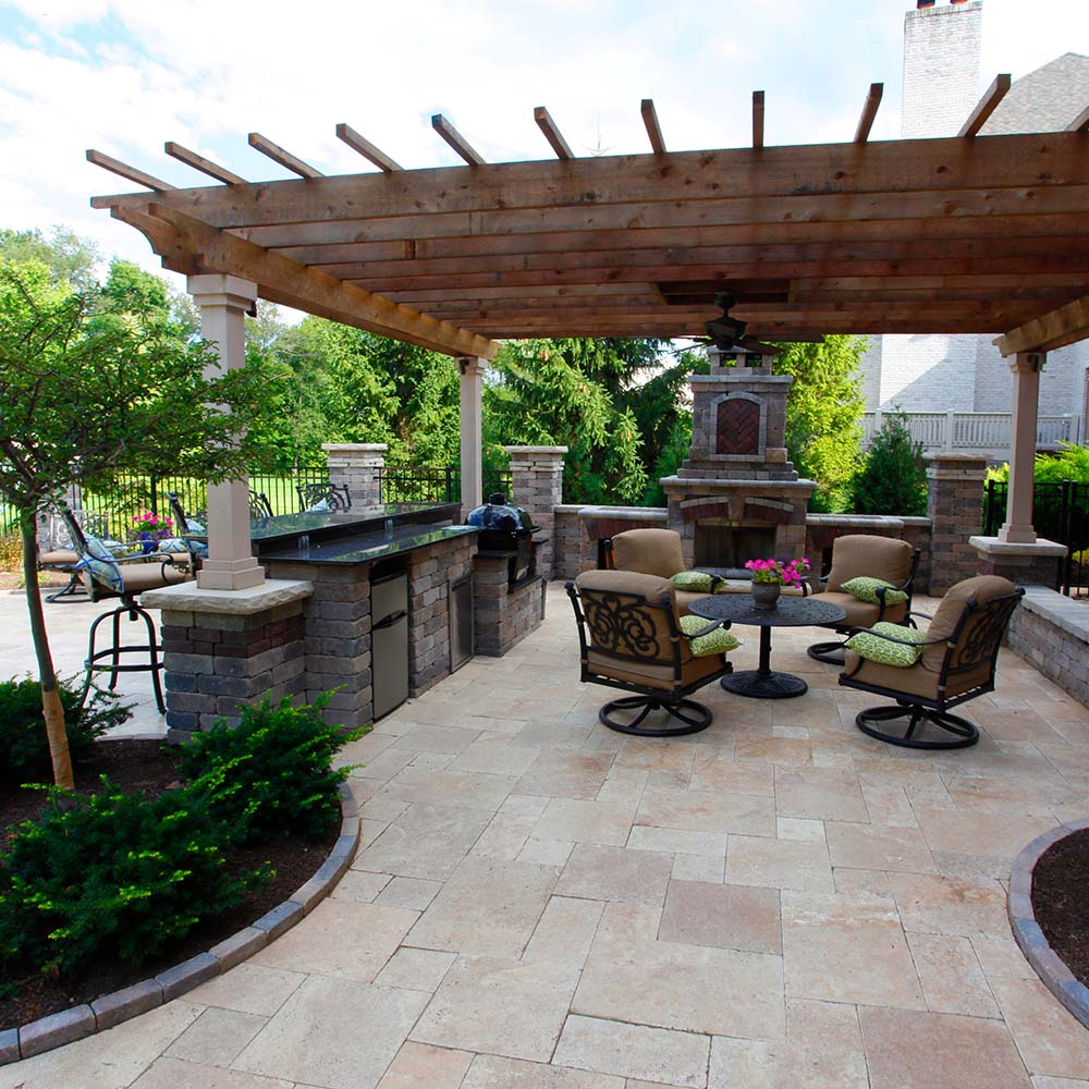Covered Outdoor Living Spaces | Custom Outdoor Living ... on Backyard Outdoor Living Spaces id=60553