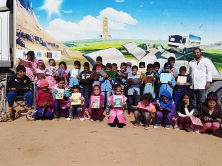 المكتبة المتنقلة بلدية دلدول (5)