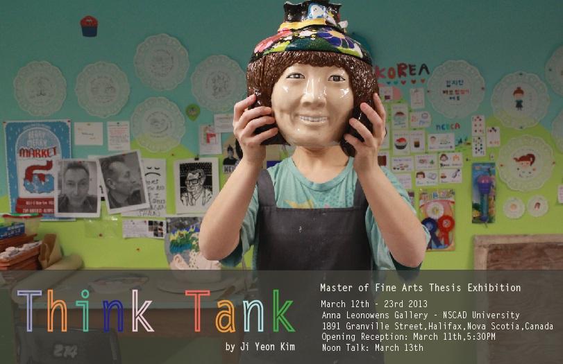 Ji Yeon Kim, Think Tank, Poster