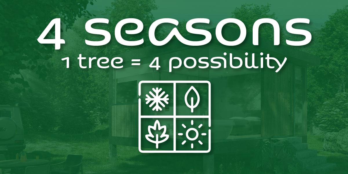 4 season blender vegetation