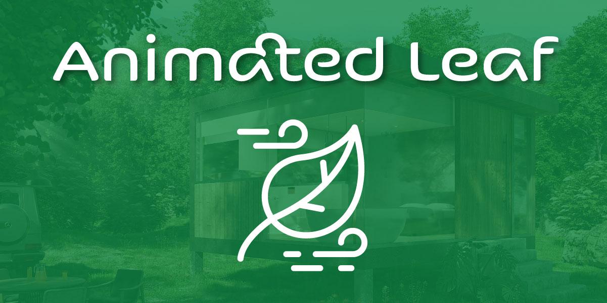 animated leaf blender