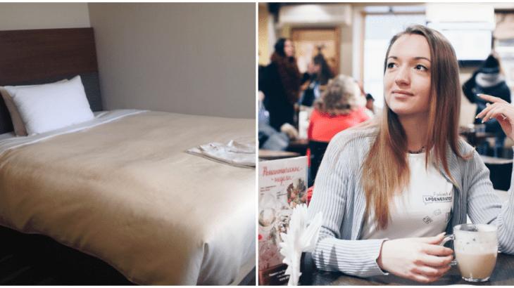 ロシア美人が起業!!男性のベッドを人肌で温める新ビジネス