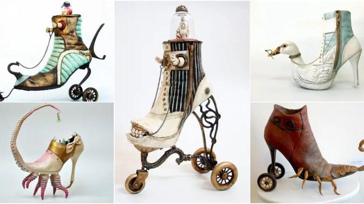 「サルバドール・ダリが靴職人だったら…」世界一シュールなクツの芸術