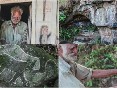 40年山籠りするニカラグアの仙人