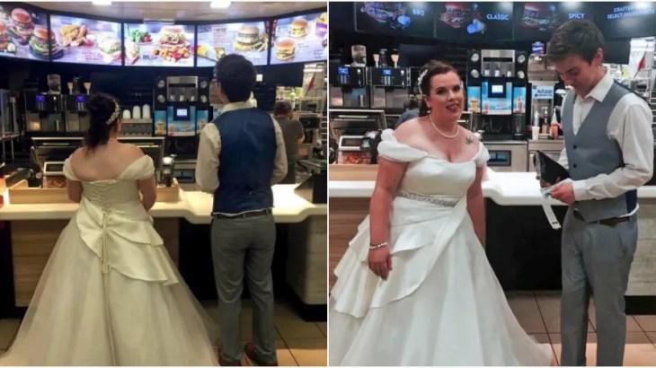 ささやか過ぎる新婦の夢「結婚式当日にマクドナルド食べたい」実現!
