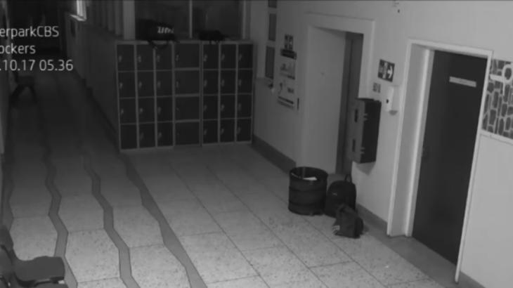 続・リアル学校の怪談…深夜の校舎で荒ぶる幽霊のポルターガイスト動画