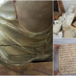 奇跡の実話!!キリスト様のお尻から300年前の秘密の手紙を発見…