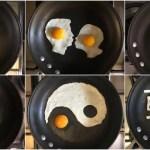 目玉焼きの魔術師!フライパンに描くインスタ映えする卵アートの世界