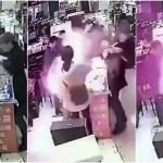 超危険!!iPhoneバッテリーかじって大爆発事件in中国の衝撃動画