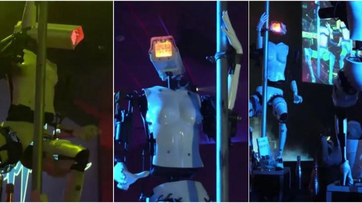 ロボットポールダンサーに拍手喝采