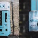 天才の発想!原価0円「雪玉の自動販売機」ビジネスで金儲けチャンス