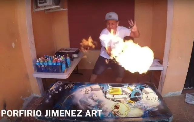 メキシコの凄腕ドラゴンボール絵師