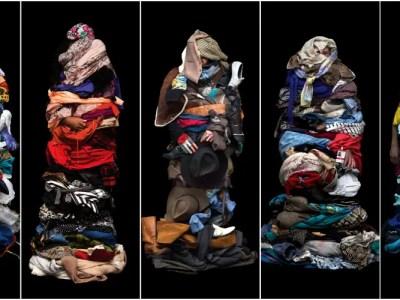 ファストファッションの皮肉アート