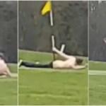 変態紳士「ゴルフ場の9番ホールと愛し合う」衝撃ホールインワン動画に全英が爆笑