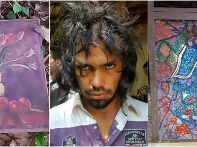 南米のレクター博士は被害者の血液で絵を描く