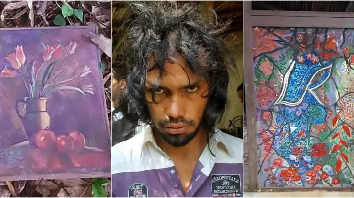 南米のレクター博士逮捕…狂気の芸術家は被害者の血液で絵を描き遺体を食す