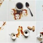 超美麗「コーヒーのシミアート」がインスタ映え抜群で「いいね!」殺到中