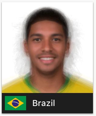 ワールドカップ各国代表の平均顔まとめ