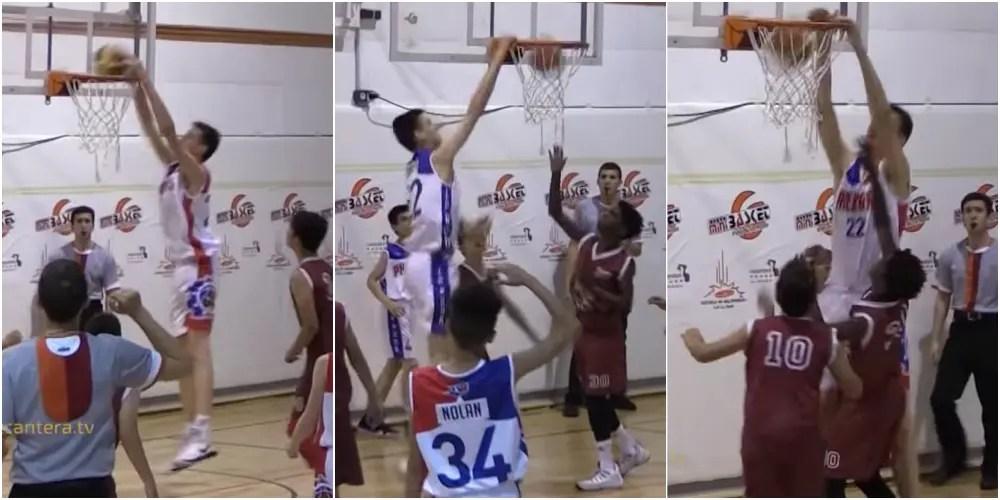 身長2mの12歳バスケ少年が無双すぎる