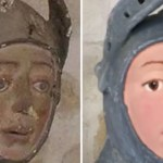 お宝修復大失敗!!500年前の聖ジェルジオ像が残念な面白顔に変身