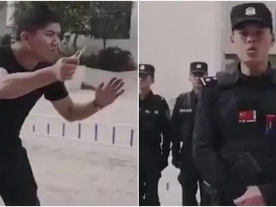 中国警察直伝「ナイフで襲われた時の対処法」