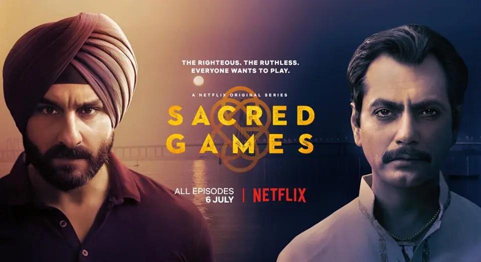「聖なるゲーム」はインド産バイオレンス謎解きドラマ