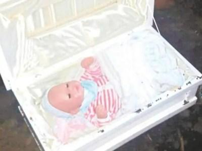 本当にあった怖い話、彼女の妊娠出産は全部嘘…墓の中から赤ちゃんの人形