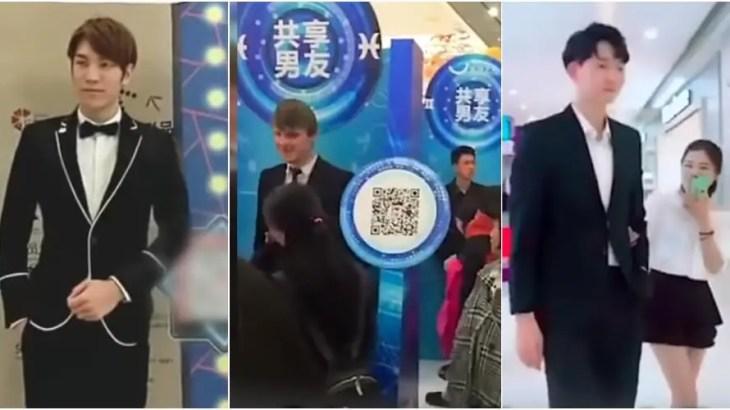 大人気!孤独な中国人女性の買い物を「レンタル彼氏」が格安料金サポート