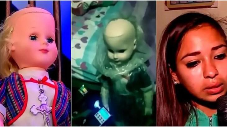 突然ハゲた呪いの人形が嫉妬で暴れまわる!千里眼を持つ助っ人も登場