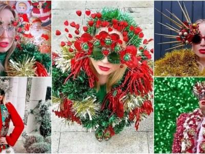 クリスマス依存症のファッションデザイナー