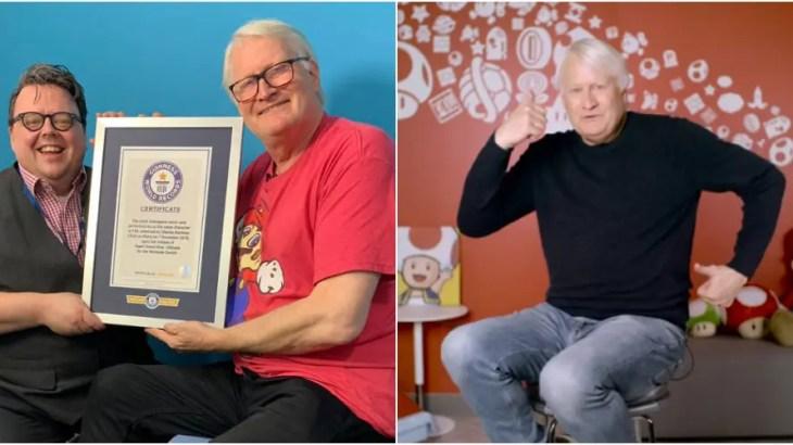 世界一成功した声優「スーパーマリオの中の人」をギネス認定