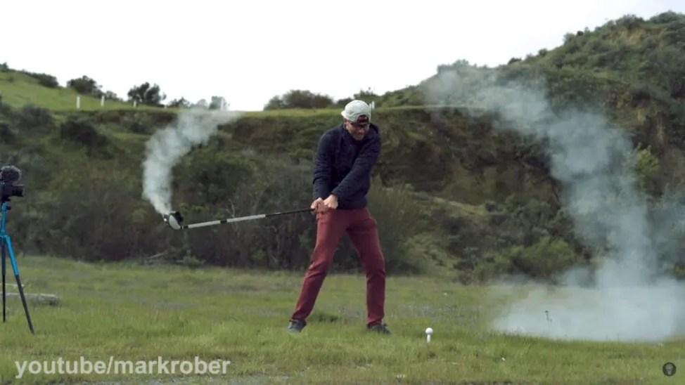元NASA職員開発のロケットゴルフクラブ