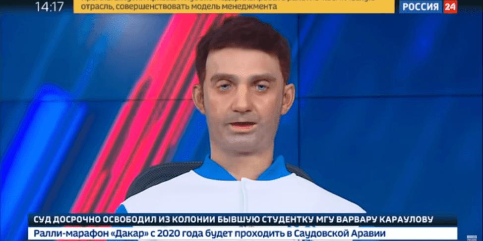 死んだ目をしたロボットアナウンサーがロシアで誕生