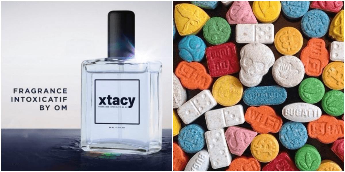 エクスタシー香水で麻薬撲滅