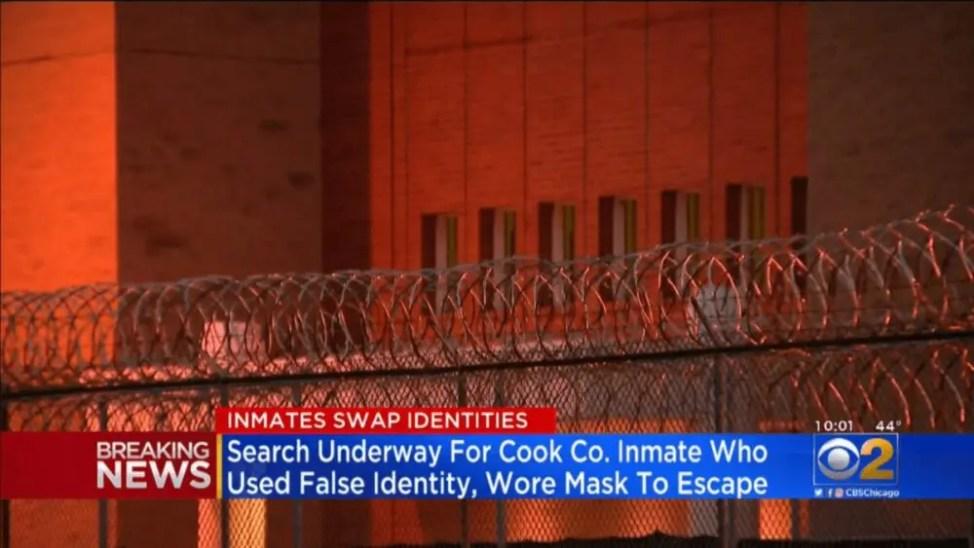 マスクを悪用した脱獄事件発生